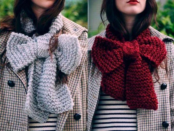 модные и красивые шарфы весна 2018 фото 1