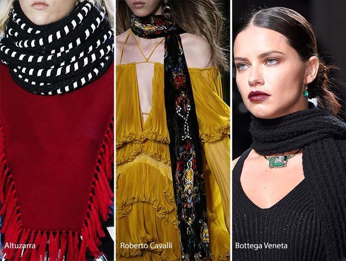 модные и красивые шарфы весна 2018 фото 3