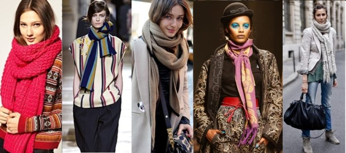 модные шарфы весна 2018: тенденции, тренды и новинки на фото 2