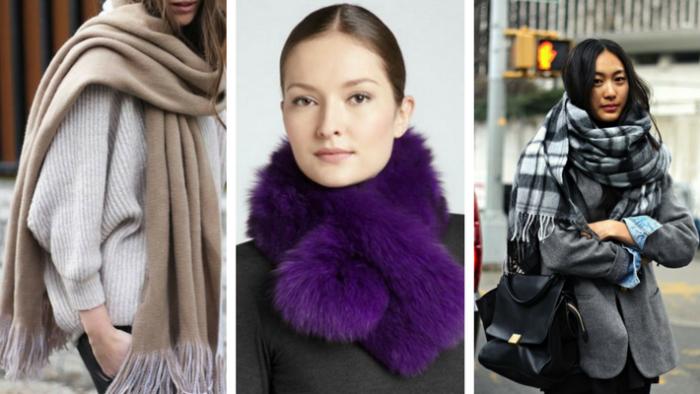 модные и красивые шарфы весна 2018 фото 6