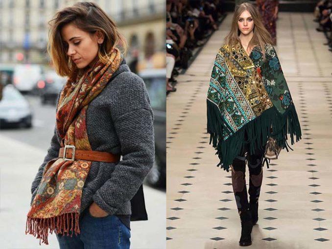 модные и красивые шарфы весна 2018 фото 8