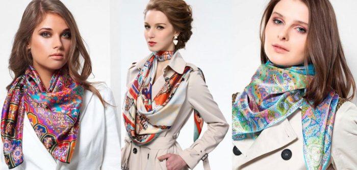 модные шарфы весна 2018: тенденции, тренды и новинки на фото 3