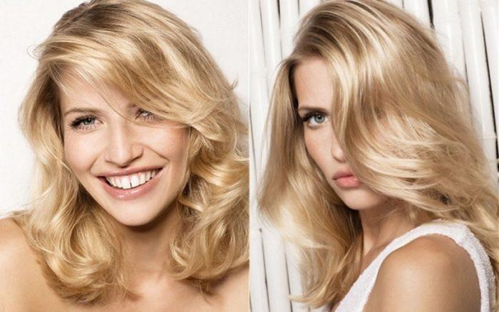 красивый и модный блонд 2018 фото 1