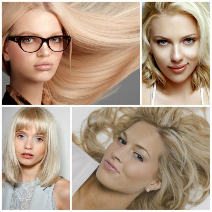 красивый и модный блонд 2018 фото 6