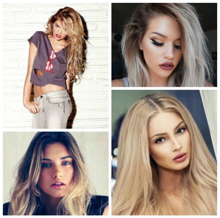 блонд 2018, модные тенденции, тренды и новинки на фото 4