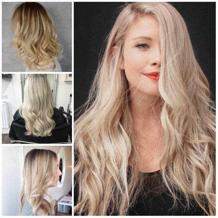 блонд 2018, модные тенденции, тренды и новинки на фото 5