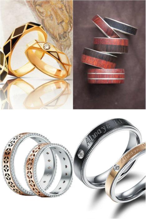 дизайнерские обручальные кольца 2018, свадебные новинки на фото 1