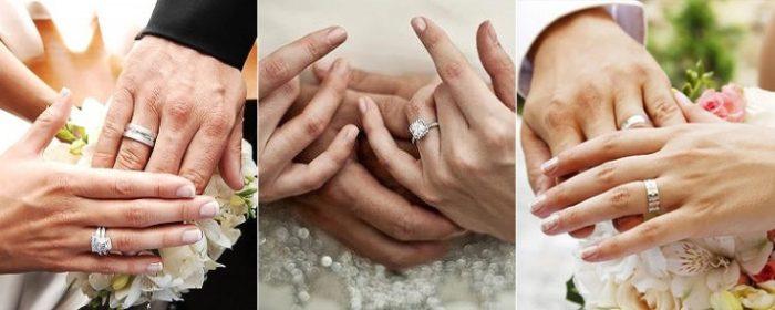 дизайнерские обручальные кольца 2018, свадебные новинки на фото 5