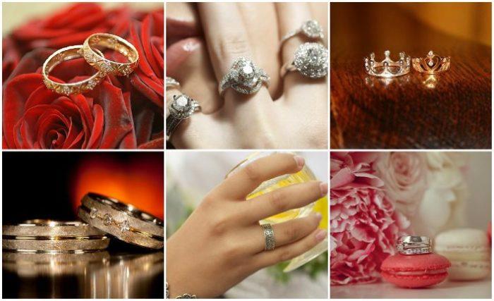 дизайнерские обручальные кольца 2018, свадебные новинки на фото 6