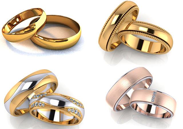 710e7ce065ea Модные обручальные кольца 2018  свадебные обереги, фото новинки, цена