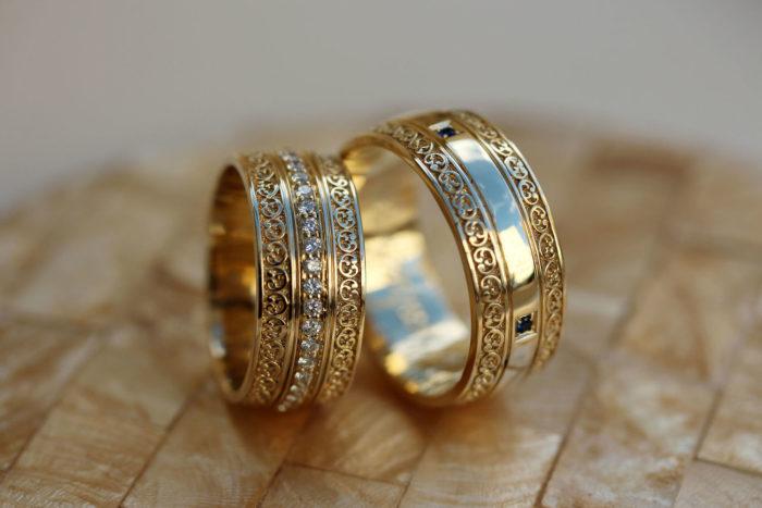 винтажные обручальные кольца 2018, фото новинки 5