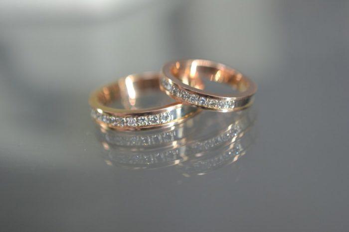 модные обручальные кольца с бриллиантами 2018 фото 6