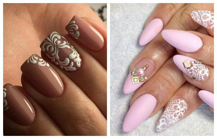 модные цвета для рисунков на ногтях и маникюра 2018 в целом фото 1