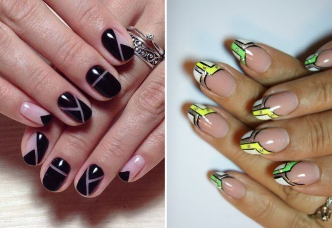 геометрия на ногтях фото 4