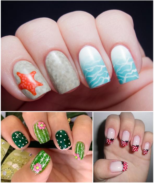 модные цвета для рисунков на ногтях и маникюра 2018 в целом фото 3