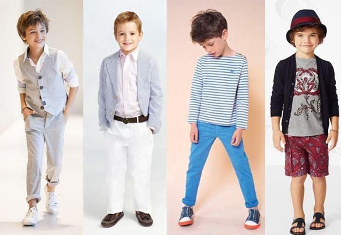 детская мода для мальчиков весна 2018, фото новинки 1