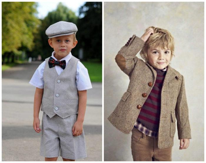 детская мода для мальчиков весна 2018, фото новинки 2