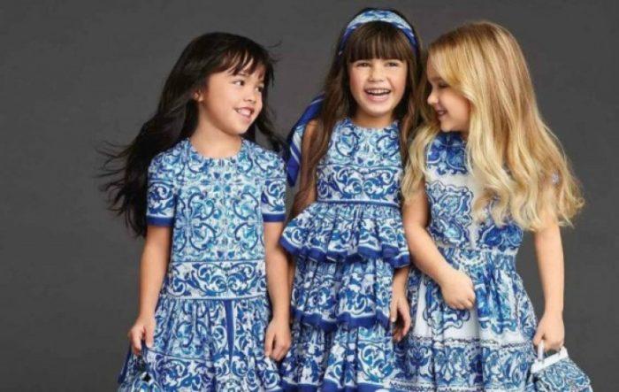 детская мода для девочек весна-лето 2018, фото новинки 1