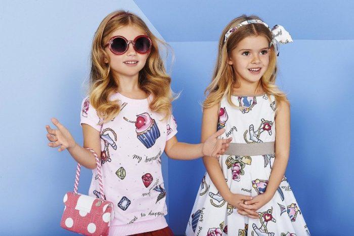 детская мода для девочек весна-лето 2018, фото новинки 3