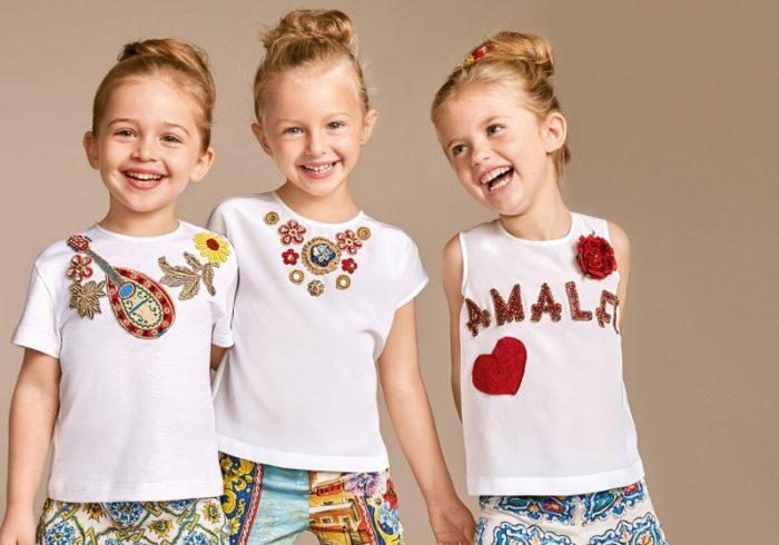 красивая и модная детская одежда на фото 15