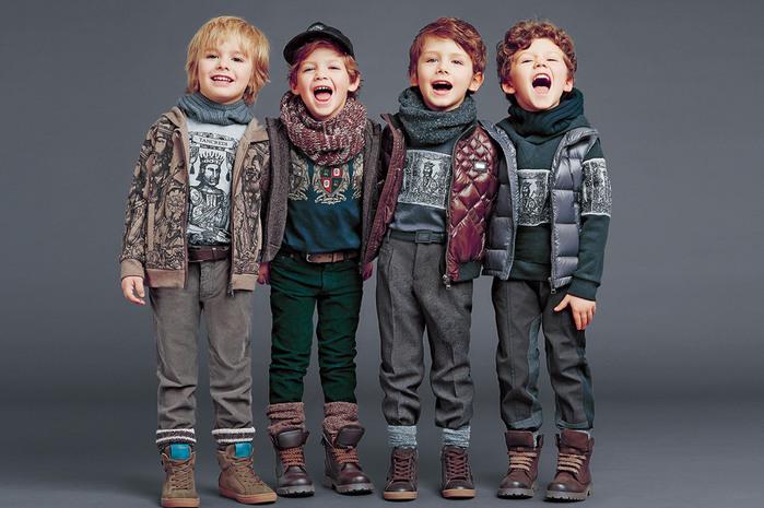 красивая и модная детская одежда на фото 17
