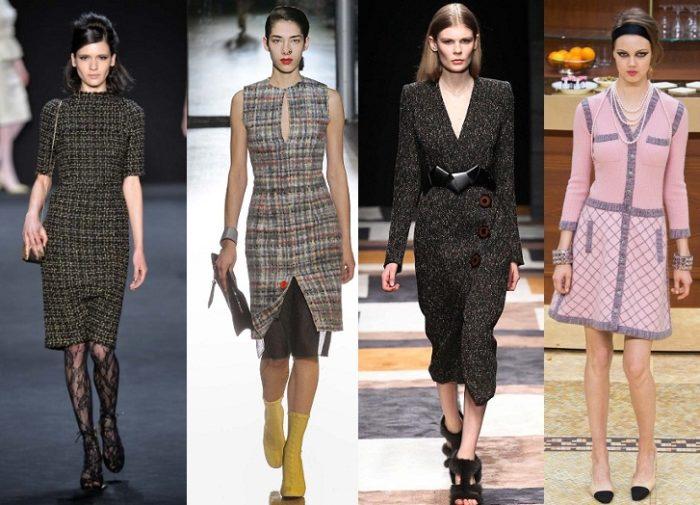 модные деловые платья весна-лето 2018, фото новинки 3