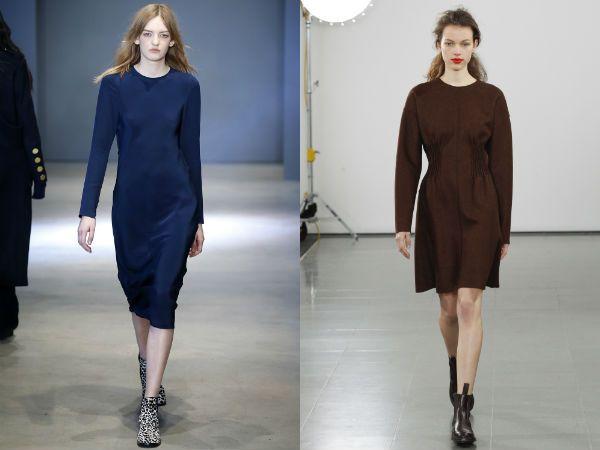 модные деловые платья весна-лето 2018, фото новинки 4