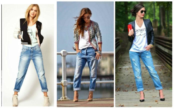 джинсы-бойфренды фото 2