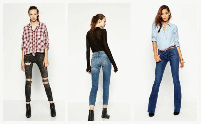 модные джинсы весна-лето 2018, фасоны на фото 1