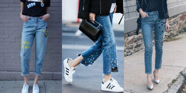 модные джинсы весна-лето 2018, фасоны на фото 2