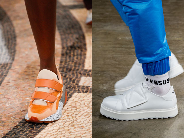модные кроссовки, кеды и сникерсы весна-лето 2018 фото 6