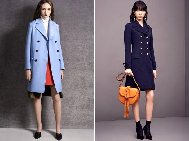 модные фасоны пальто весна-лето 2018 фото 2