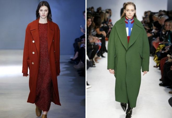 модные фасоны пальто весна-лето 2018 фото 6