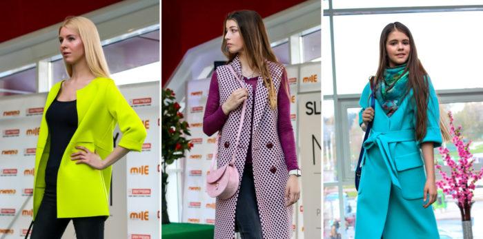 модные пальто с короткими и укороченными рукавами весна-лето 2018, фото новинки 3