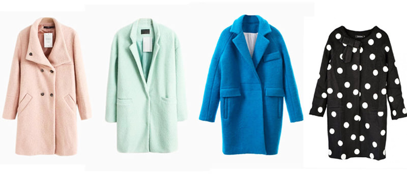 Пальто женское в стиле оверсайз