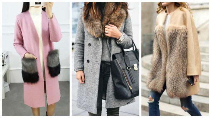 модные меховые пальто весна-лето 2018 фото 1
