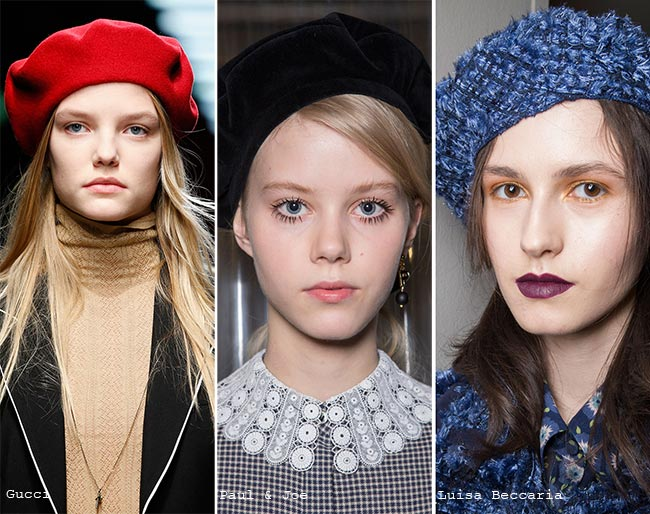 модные французские береты весна 2018, новинки на фото 1