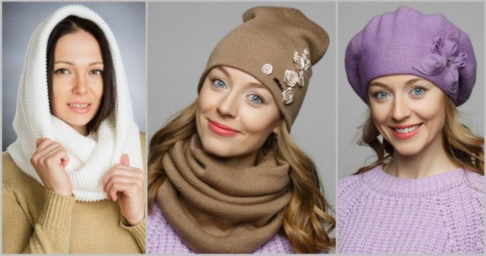 модные шапки и береты весна 2018, фото новинки 1