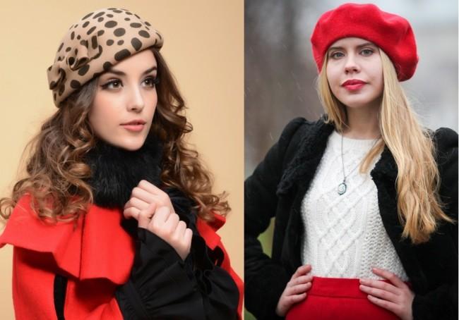 модные шапки и береты весна 2018, фото новинки 3
