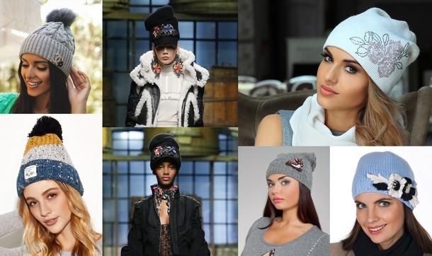 модные шапки и береты весна 2018