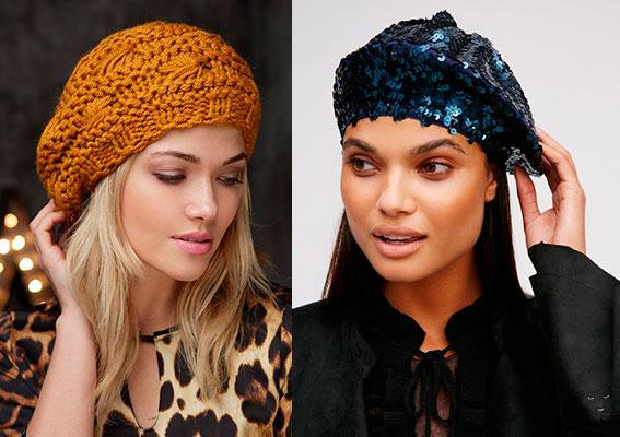 модные шапки и береты весна 2018, фото новинки 4