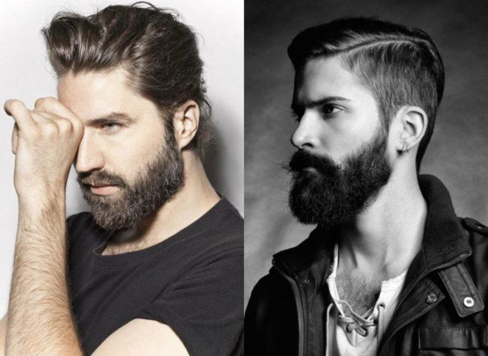 классические стрижки с бородой 2018, фото новинки 4