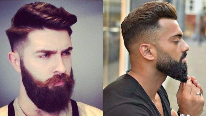 классические стрижки с бородой 2018, фото новинки 5