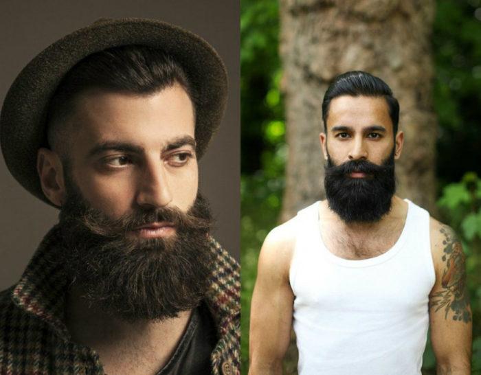 модная мужская густая борода 2018, фото 1