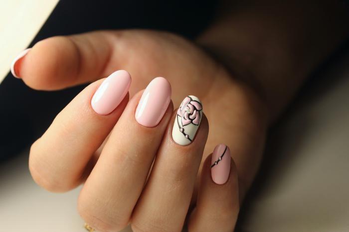 дизайн ногтей шеллаком 2018, фото новинки