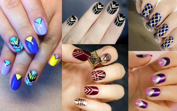 дизайн ногтей шеллаком 2018, лучшие фото новинки 3