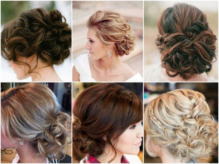 красивые и модные прически на средние волосы, фото новинки 1