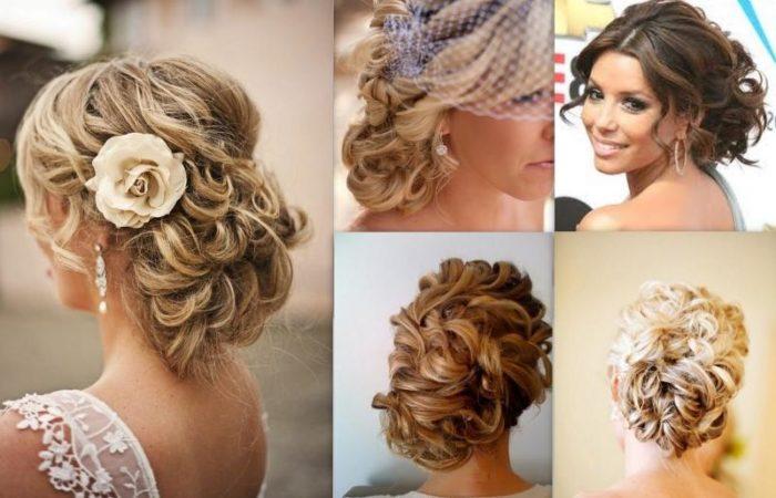 красивые и модные прически на средние волосы, фото новинки 3