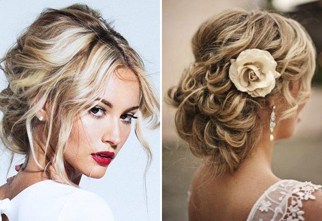красивые и модные прически на средние волосы, фото новинки 4