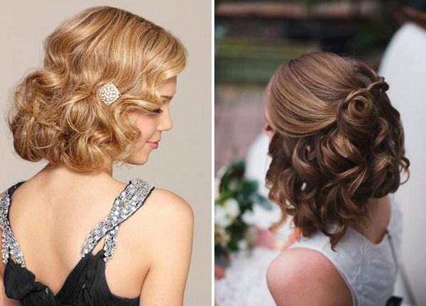 красивые и модные прически на средние волосы, фото новинки 5